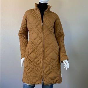 Eddie Boue Own Quilted Pocket Zip-Closure Coat